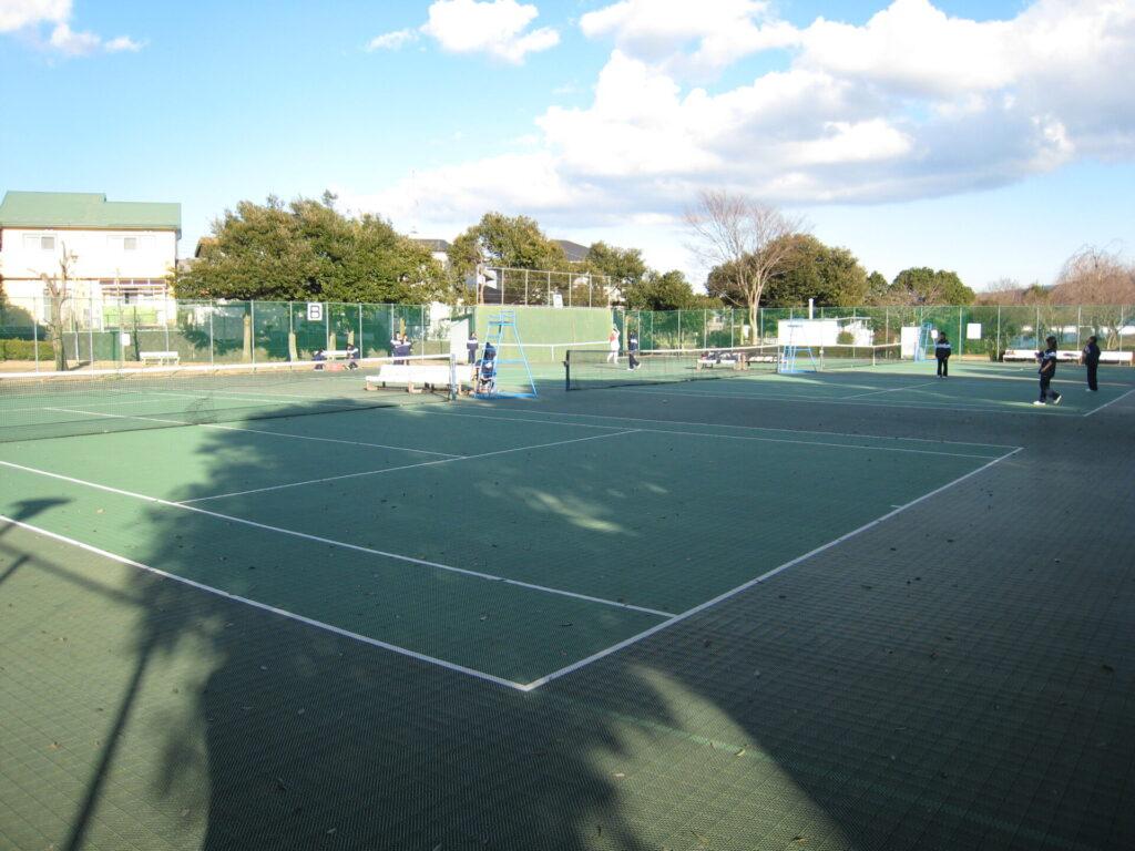 湯沢平公園|テニスコート